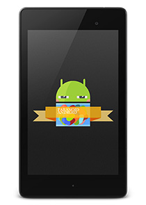 Install Paranoid Android ROM On The New Nexus 7 (2013)