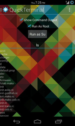 QuickTerminal for Android - Terminal