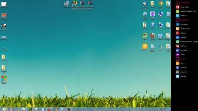 8Stack Windows 8 app launcher