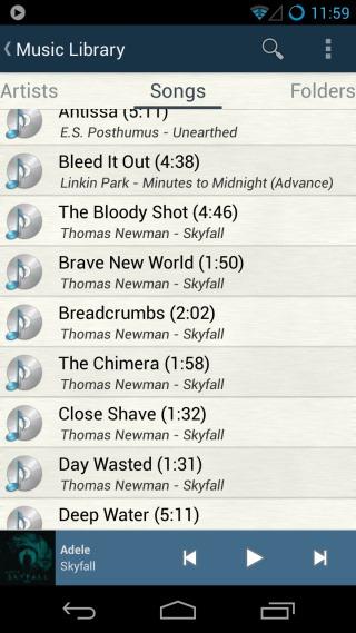 Songs List