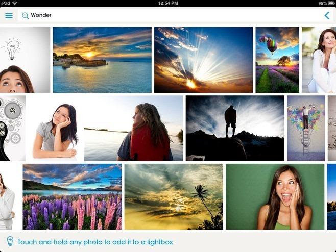 Thinkstock iOS Search