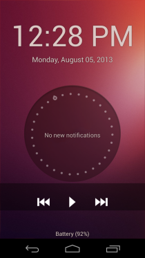 Ubuntu Touch Lockscreen 2
