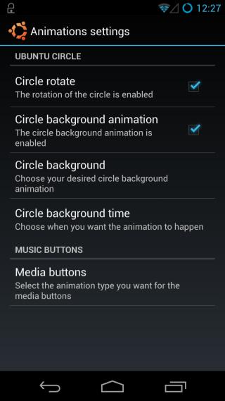 Ubuntu Touch Lockscreen Settings 3