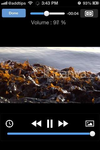 VLC Gestures iOS HUD