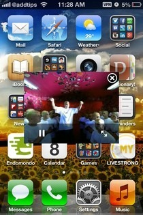 VideoPane iOS SpringBoard