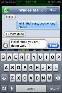 WhatsApp for Couria iOS
