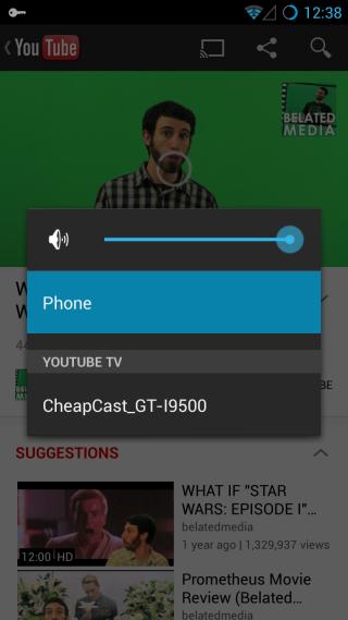 YouTube CheapCast