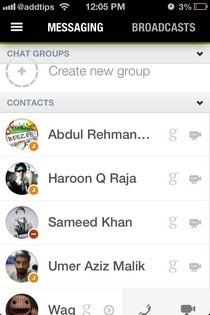 imo iOS List
