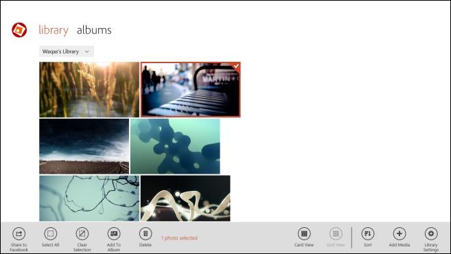 Adobe Revel_App Bar