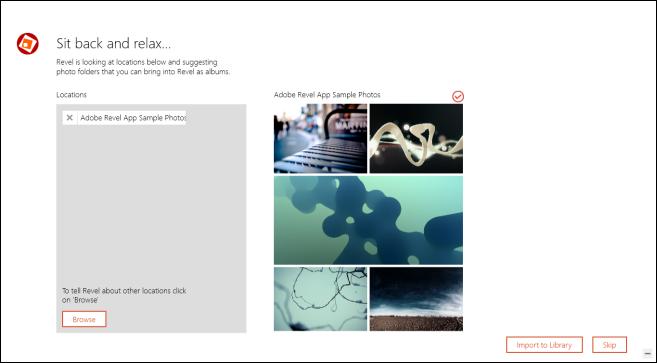 Adobe Revel_Upload