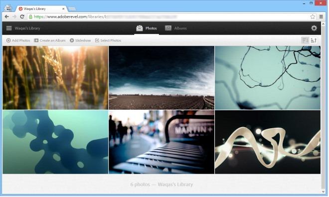 Adobe Revel_Web