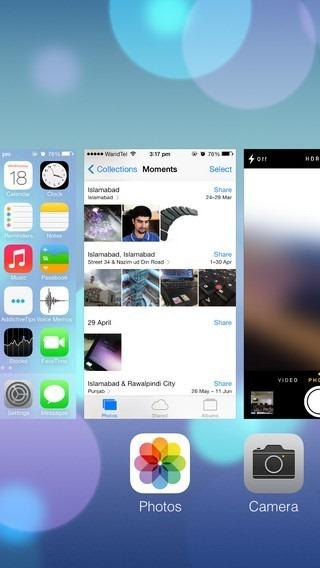 App Switcher iOS 7