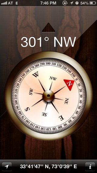 Compass iOS 6