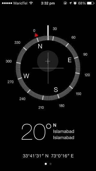 Compass iOS 7