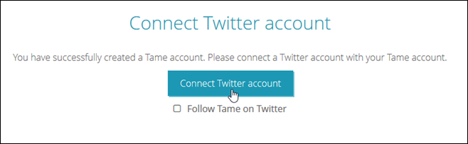 Connect Twitter