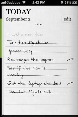 Do It (Tomorrow) iOS