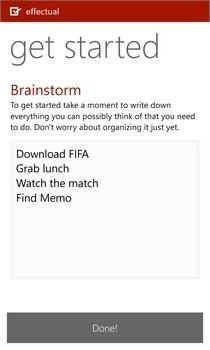 Effectual WP Brainstorm