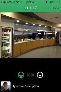 LoungeBuddy iOS Photo