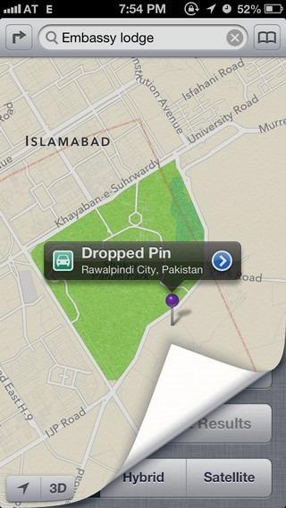 Maps iOS 6