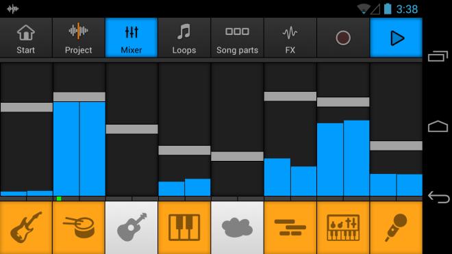 Music Maker Jam Controls