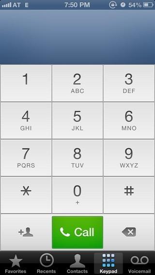 Phone iOS 6