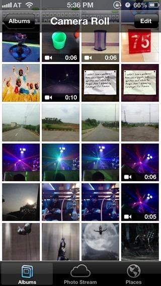 Photos iOS 6