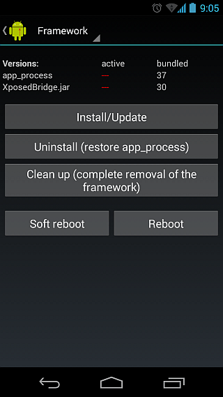 Xposed Framework for Android 02
