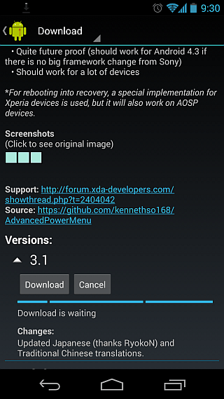 Xposed Framework for Android 07