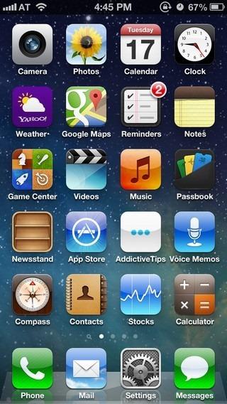 iOS 6 Home
