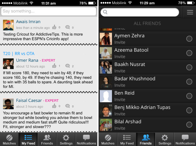 Cricout-for-iPhone-social-network-for-cricket