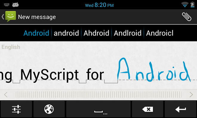 MyScript-Keyboard-for-Android