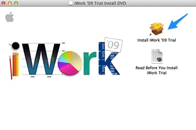 iWork-'09-Trial-Install