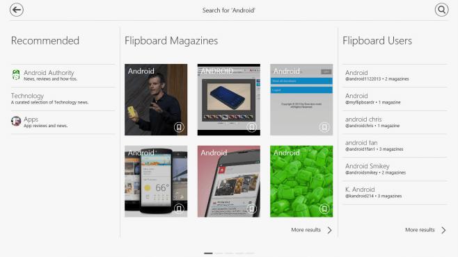 Flipboard for Windows 8 - 09