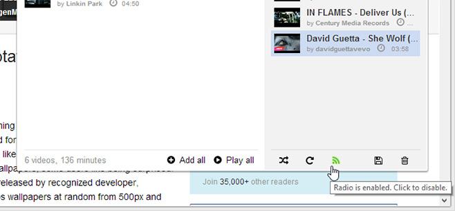 Radio-mode-Streamus-for-Chrome