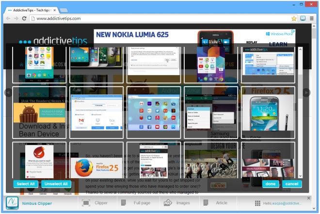 nimbus-Web clipper-images