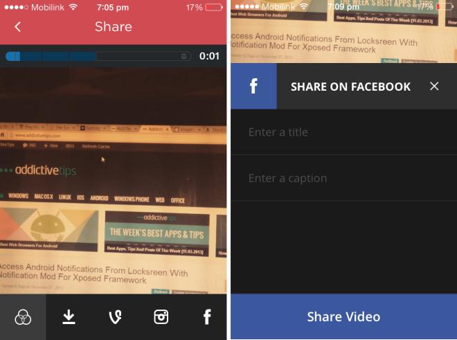 vinyet vine with instagram video features