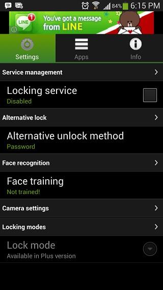 visidon-applock-settings