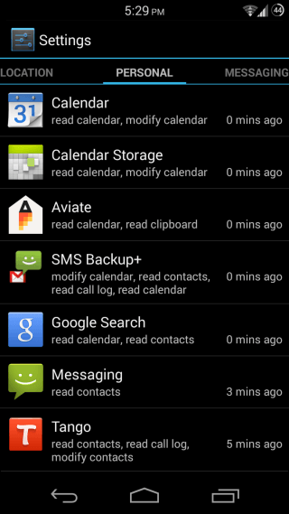 Android App Ops for Root 2