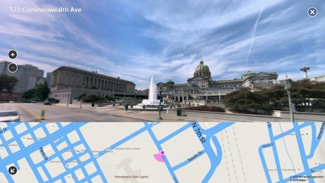 Bing Maps Preview 3
