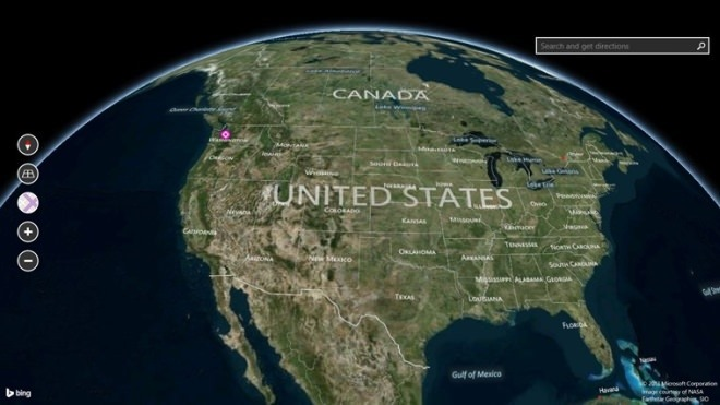 Bing Maps Preview 7