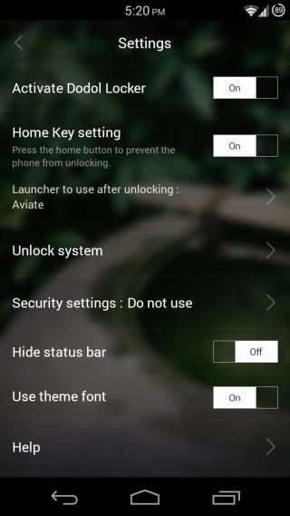 Dodol Locker for Android 03