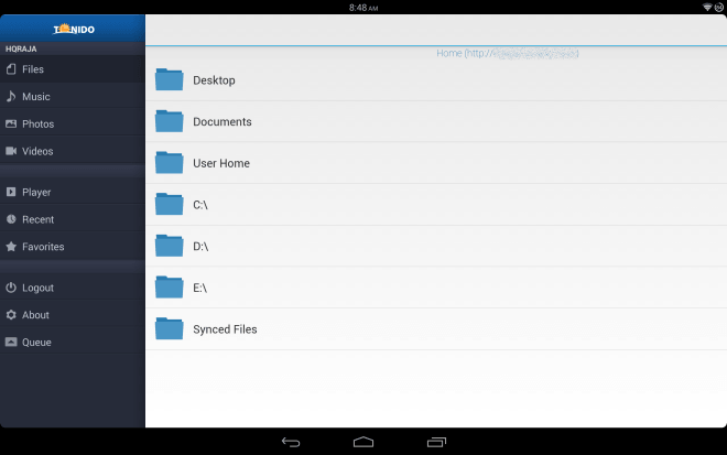 Tonido for Android