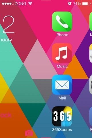 AppBox iOS Lock Screen
