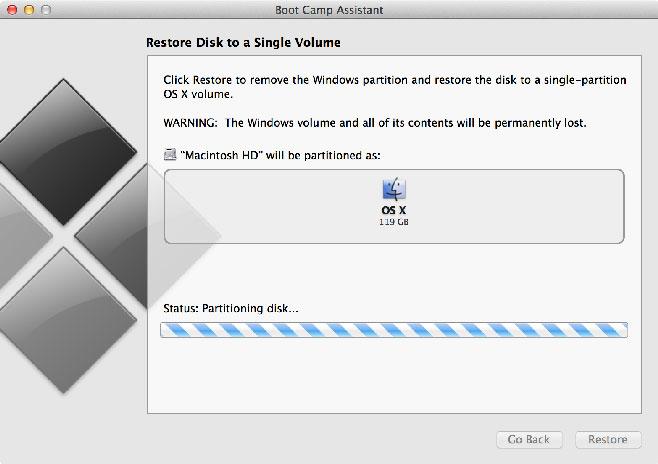 Bootcamp-RemovingWindows