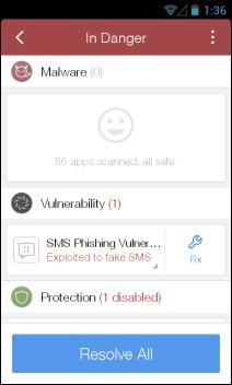 CM (Cleanmaster) Security_Resolve