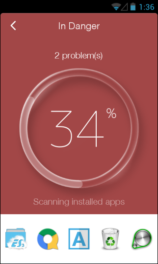 CM (Cleanmaster) Security_Scan