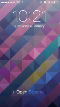 customLS Lockscreen Tweak for iOS 7 3