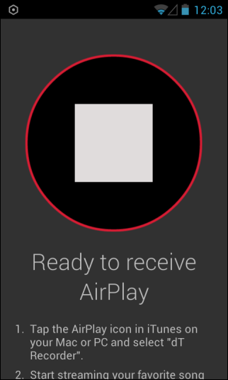 doubleTwist AirPlay Recorder_Record