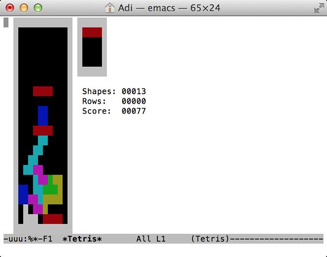 Terminal-Tetris