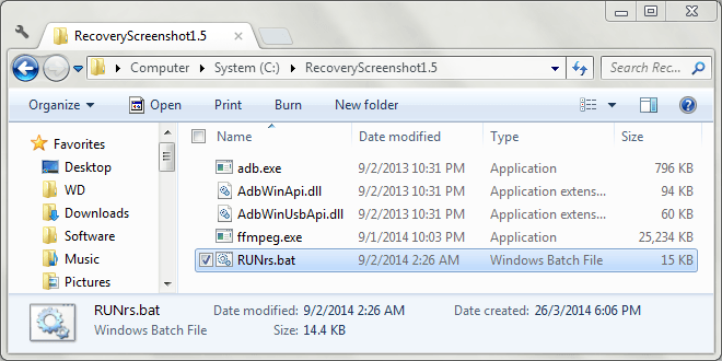 Android Recovery Screenshot for Windows 01